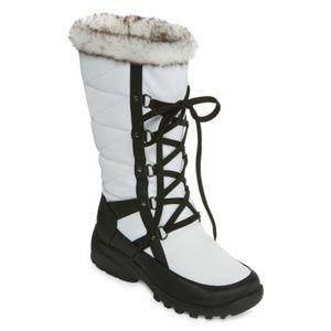 Womens Wren Waterproof Winter Boots Lace-up